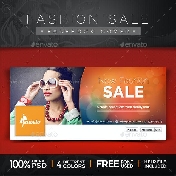 Fashion Sale Facebook Covers