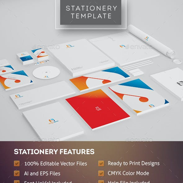 Design Sense - Corporate Identity Template