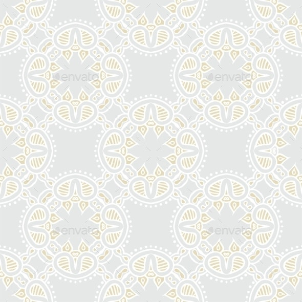 Abstract Geometric Texture in Vintage Style - Patterns Decorative
