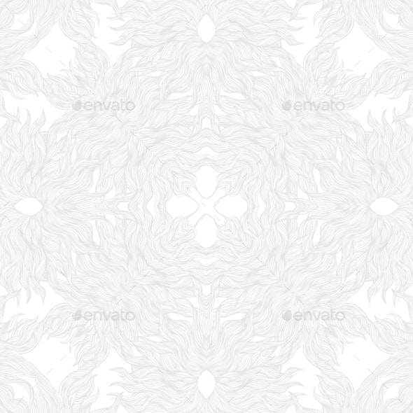 White Linear Texture in Vintage Style - Patterns Decorative