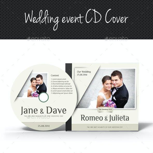 Wedding Event CD Cover V04