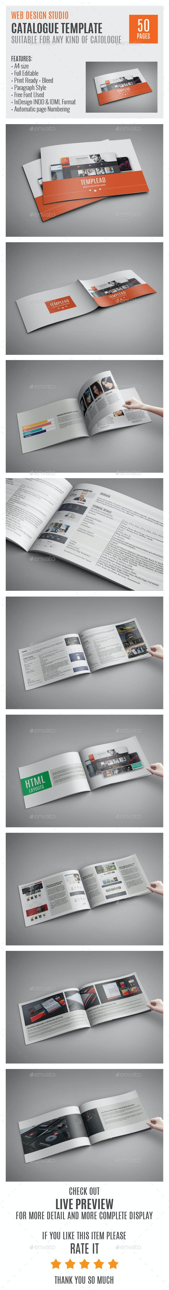 Web Design Studio InDesign Catalog 0004 - Catalogs Brochures