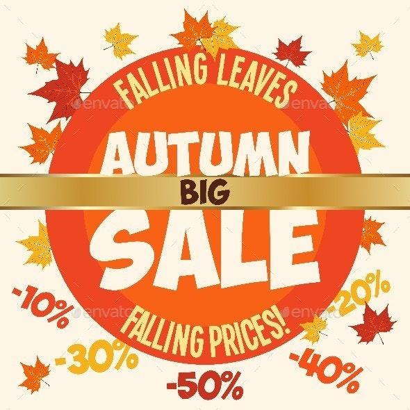 Big Autumn Sale - Commercial / Shopping Conceptual
