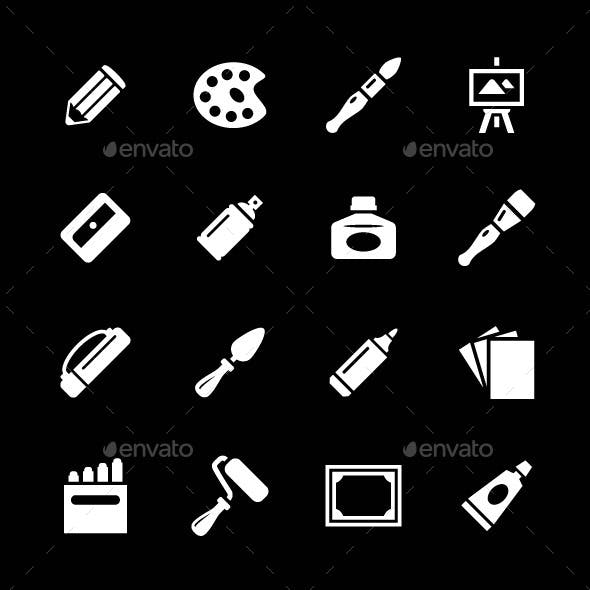 Set Icons of Art