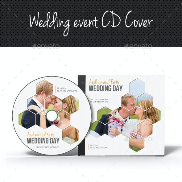 Wedding Event CD Cover V06