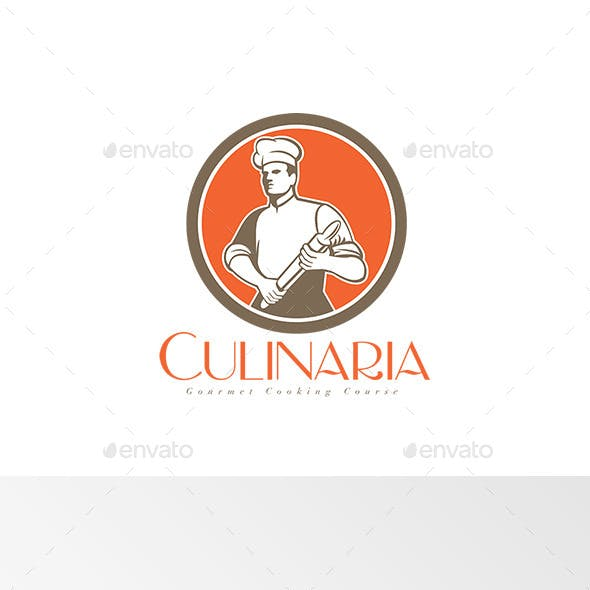 Culinaria Cooking Course Logo