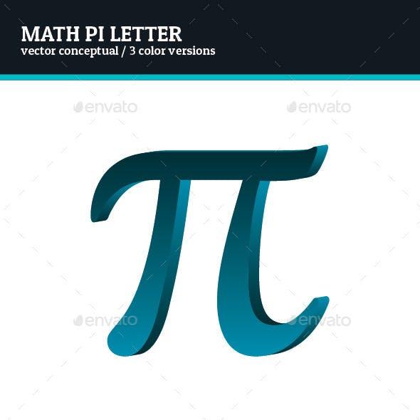 Math Pi Letter