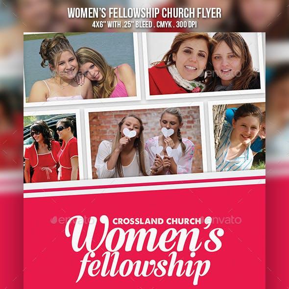 Women's Fellowship Church Flyer