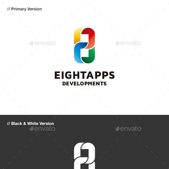 Eight Apps - Number 8 Logo
