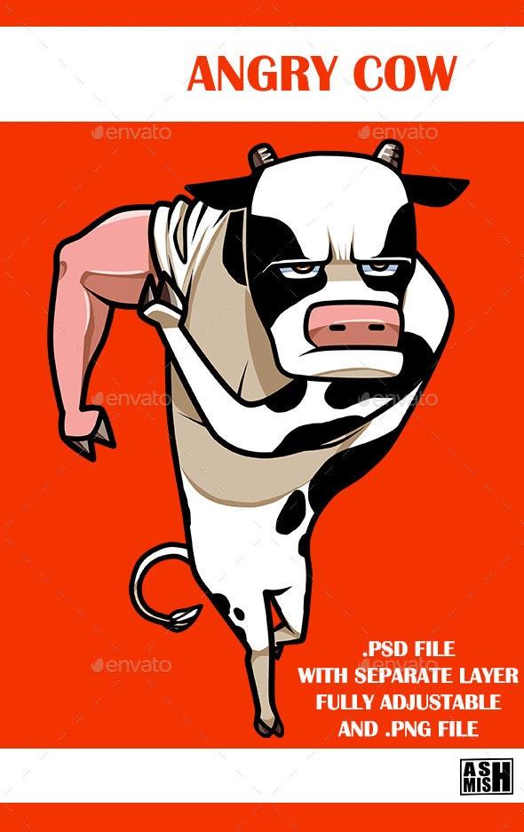 Angry Cow - Graphics