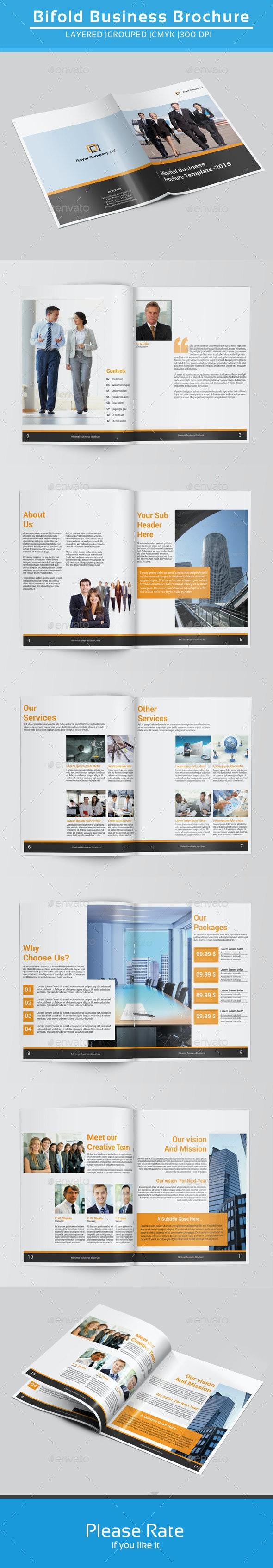 Indesign Business Brochure-V143 - Corporate Brochures