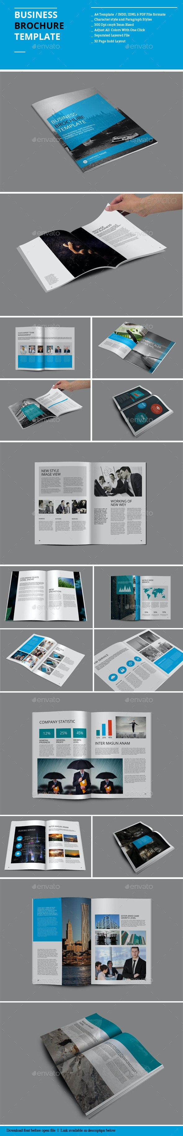 Business Brochure Templates - Corporate Brochures