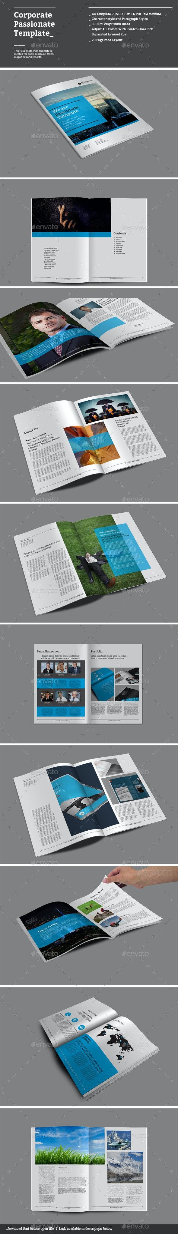 Corporate Passionate Templates - Corporate Brochures