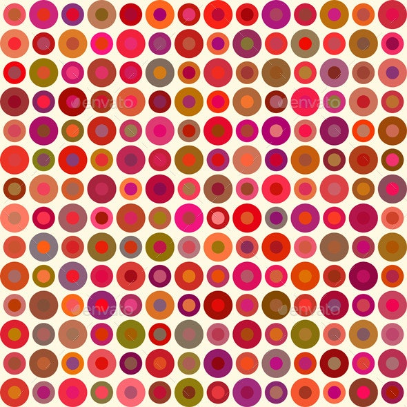 Abstract Background with Circles - Backgrounds Decorative