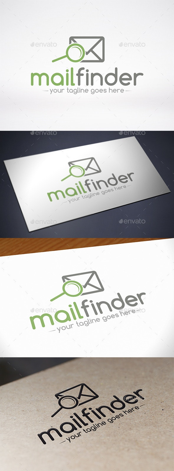 Mail Finder Logo Template - Objects Logo Templates