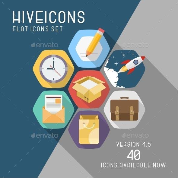 Hive Icons Set