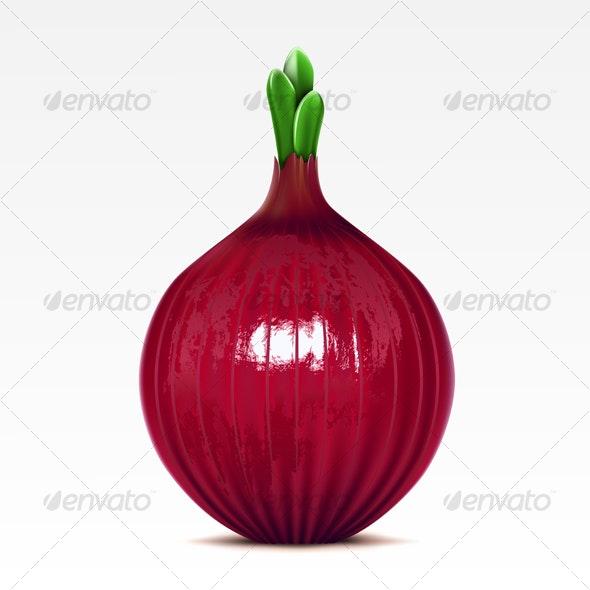Onion - Food Objects