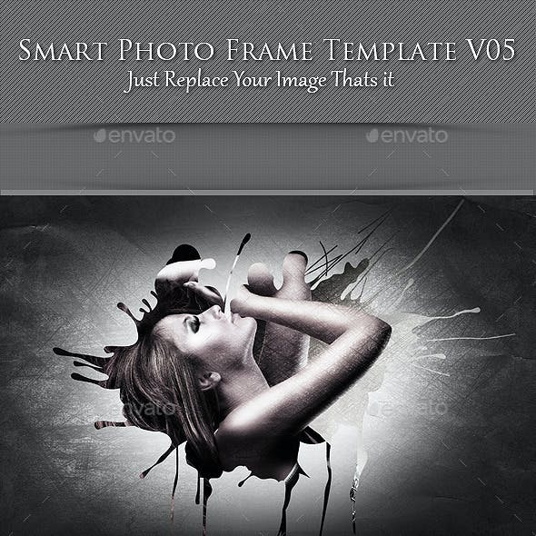 Smart Photo Frame Template V05