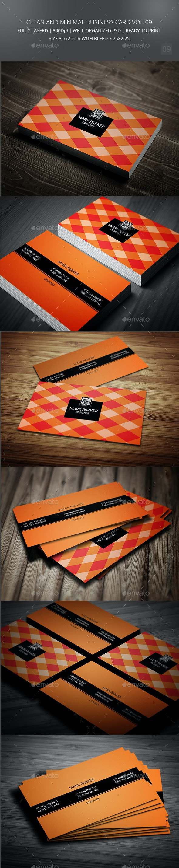 Clean and Creative Business Card Vol-09 - Creative Business Cards