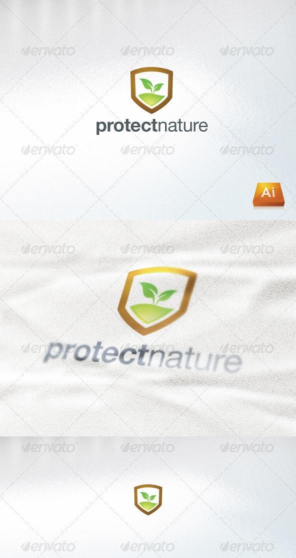 Protectnature - Nature Logo Templates