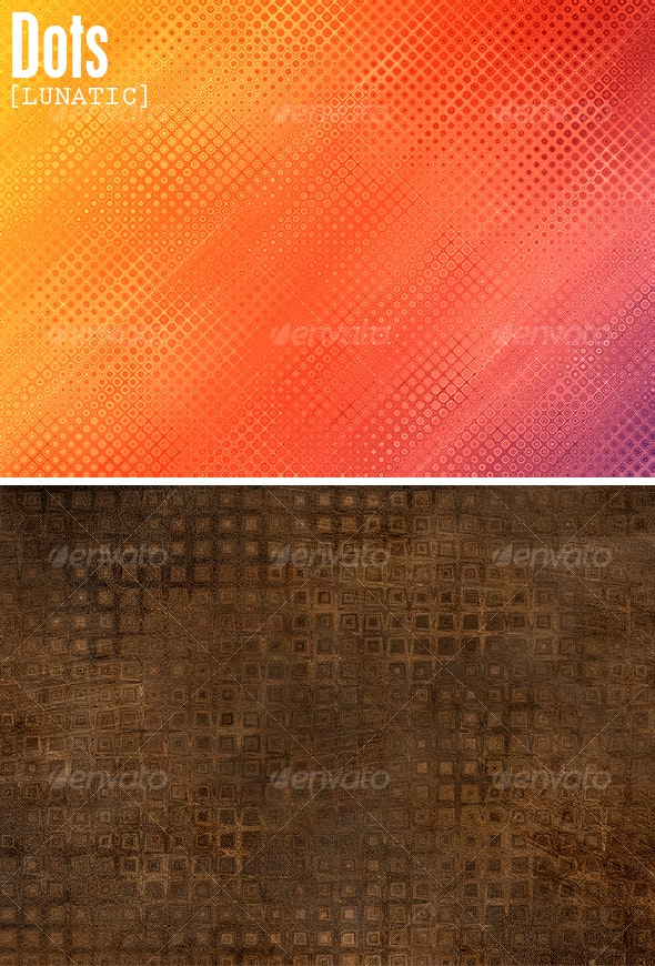 Dots Backgrounds - Abstract Textures