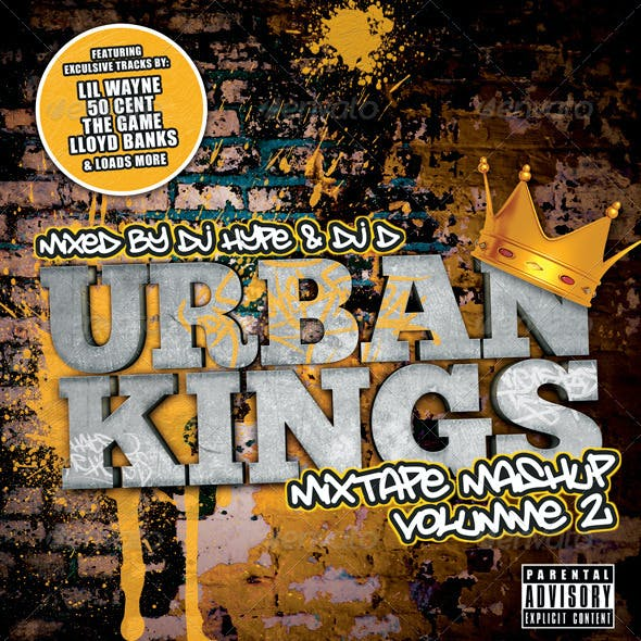 Urban Kings Mixtape or Flyer Template