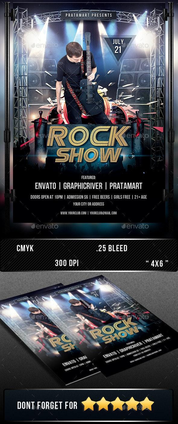 Rock Show - Concerts Events
