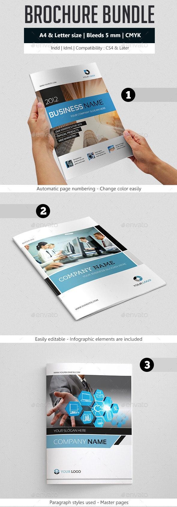 Business Brochure Template Bundle - Corporate Brochures
