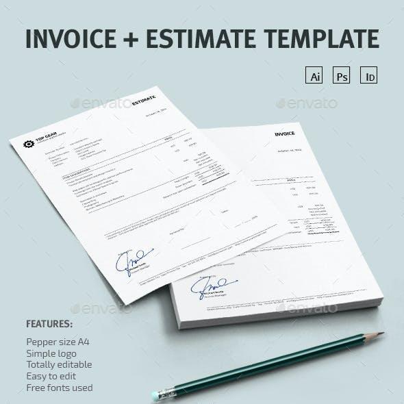 Invoice + Estimate Template