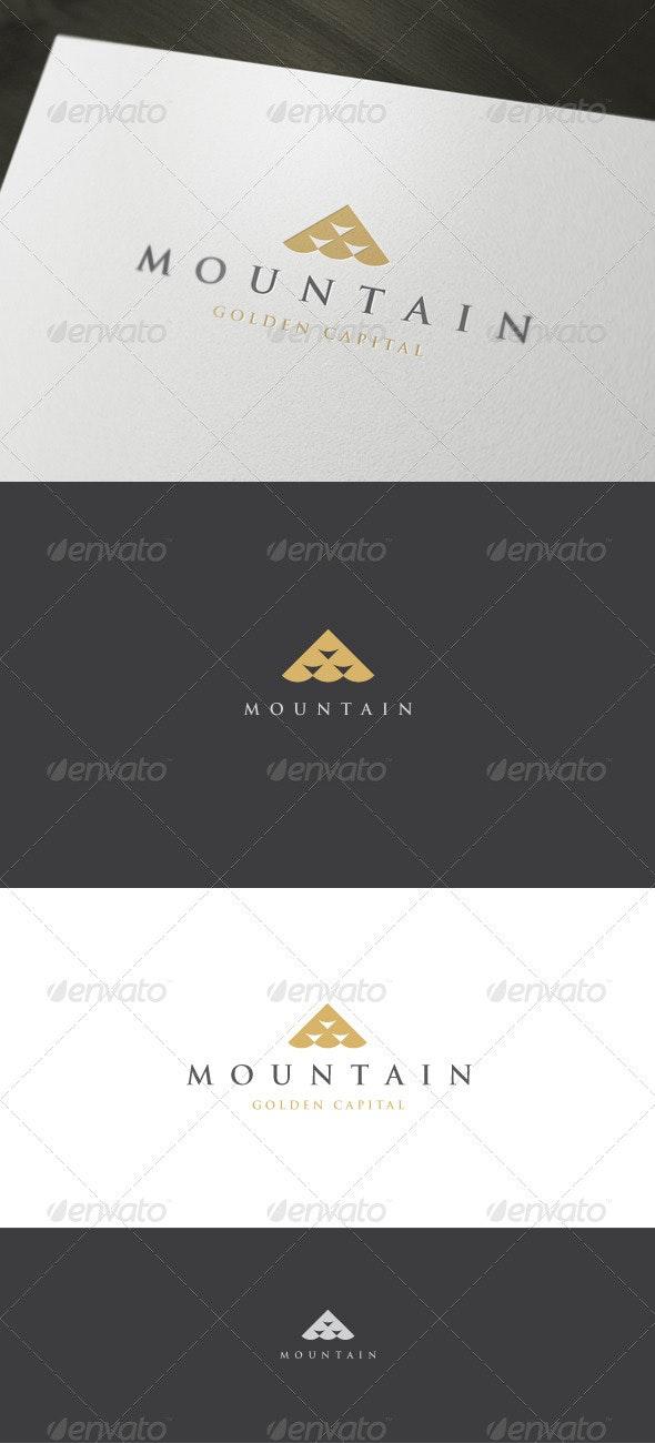 Mountain Logo - Vector Abstract