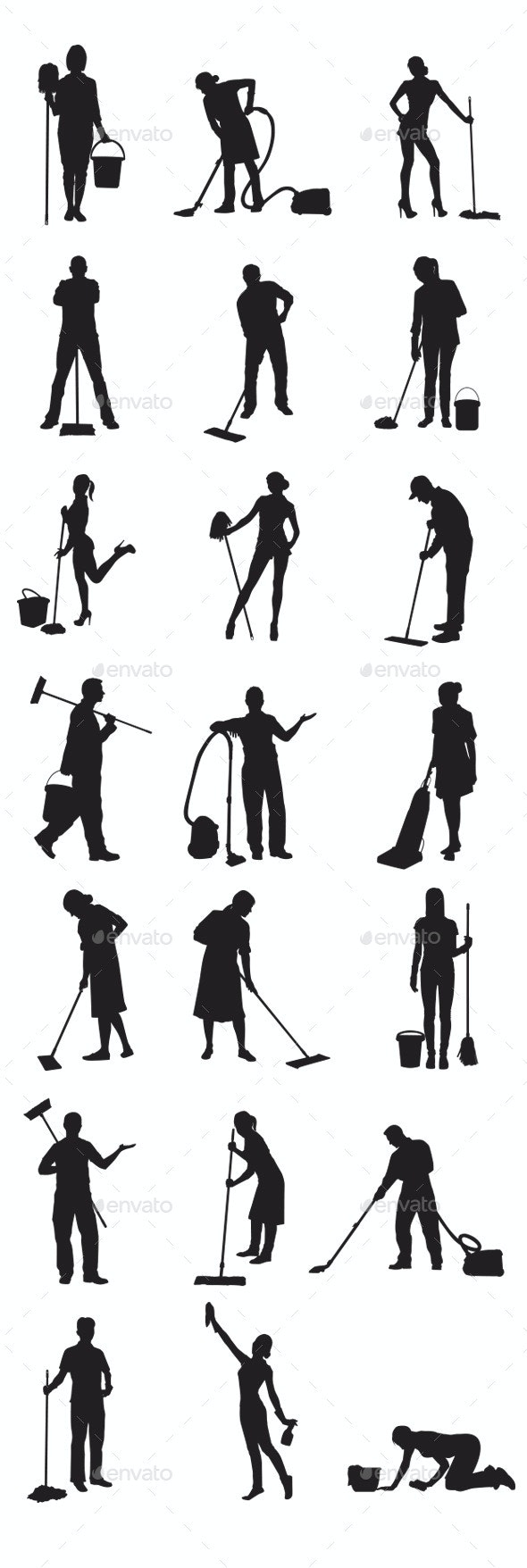 Janitor - People Characters