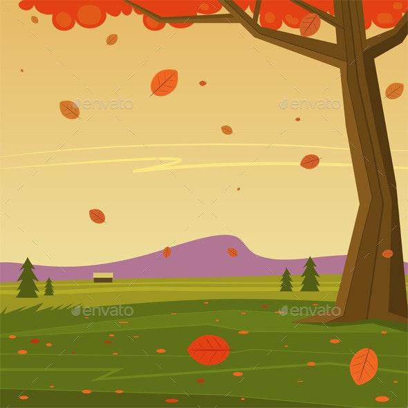 Autumn in the Mountain - Seasons Nature