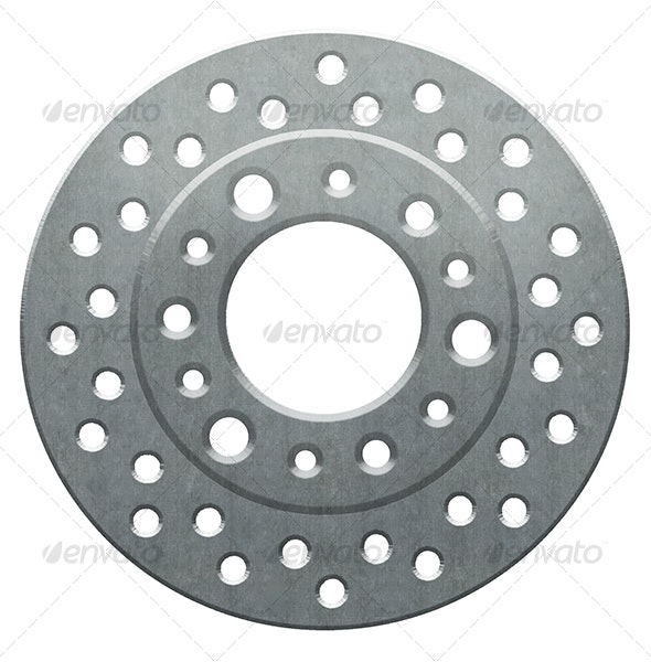 Hi Resolution Brake Rotor - Miscellaneous Backgrounds