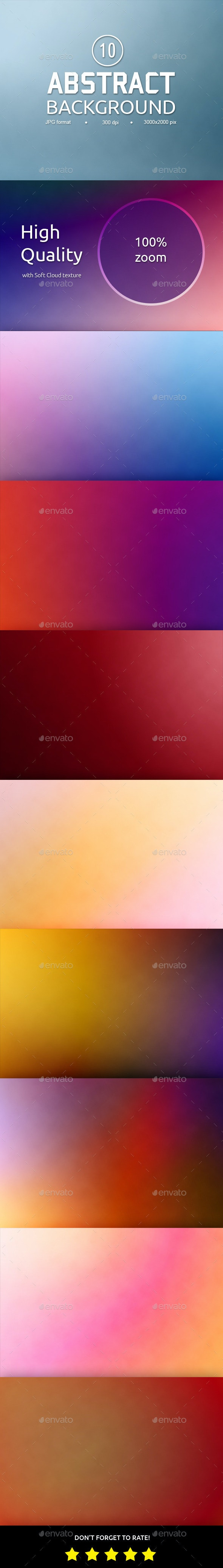 10 Soft Textured Blur Backgrounds - Backgrounds Graphics