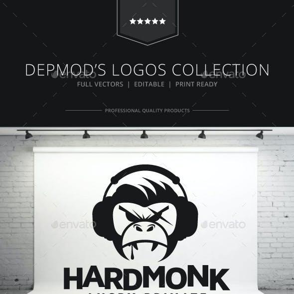 Hard Monk Logo