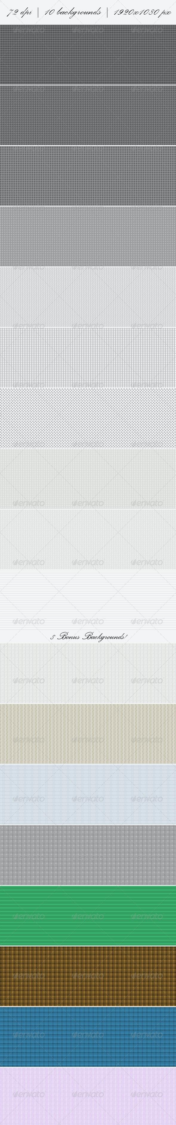 Minimal Pixel Web Backgrounds + Bonus Backgrounds - Miscellaneous Backgrounds