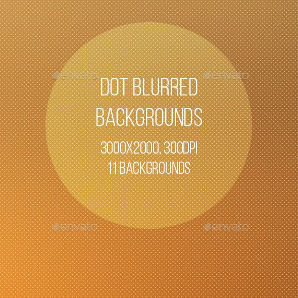 Dot Blurred Backgrounds