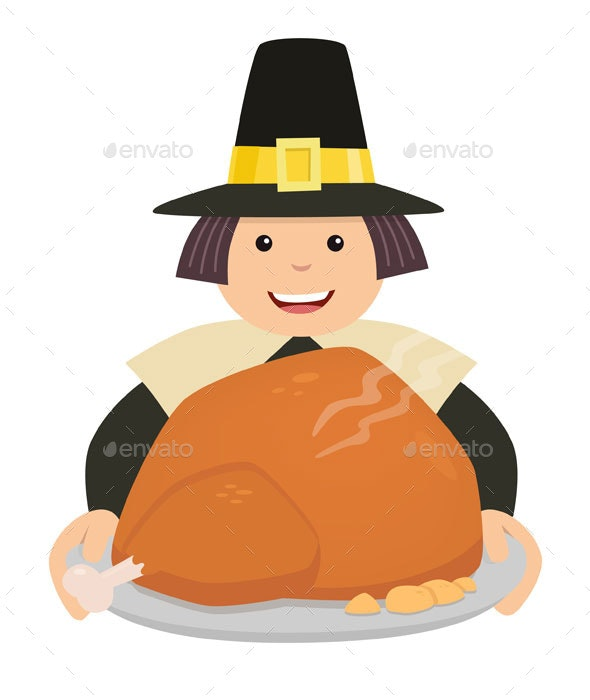 Thanksgiving Turkey - People Characters