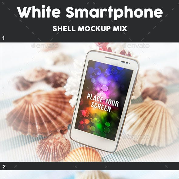 Smartphone Mock Up - Shell Theme