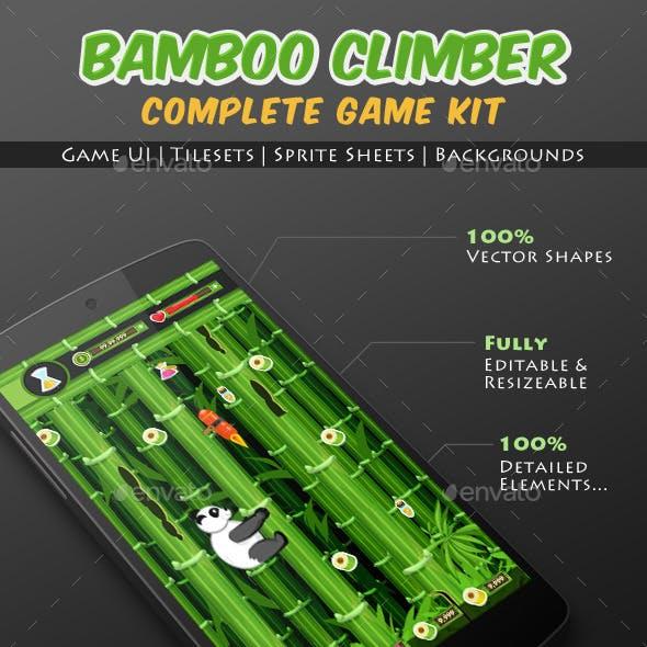 Bamboo Climber Panda Game Kit