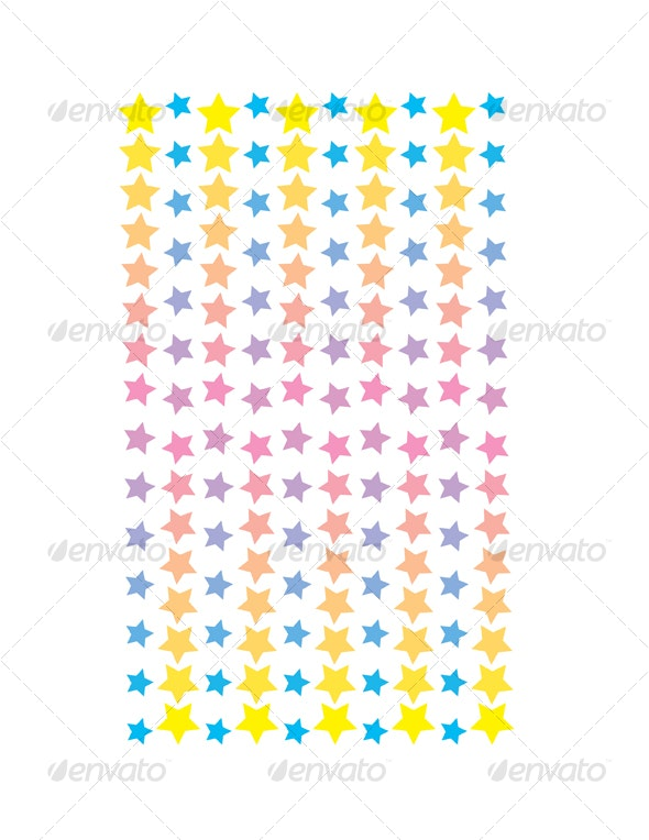 Beautiful Stars - Decorative Symbols Decorative