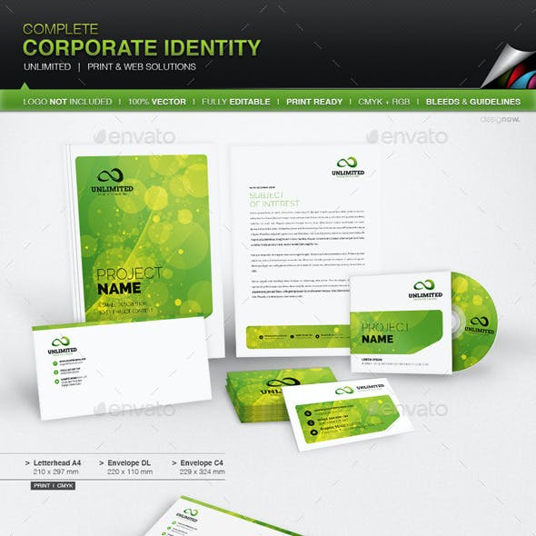 Corporate Identity - Unlimited