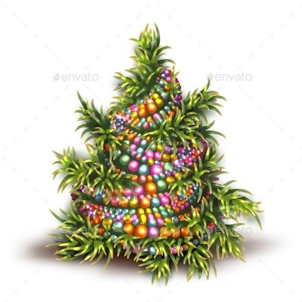 Illustration of Christmas Fir-Tree - Christmas Seasons/Holidays