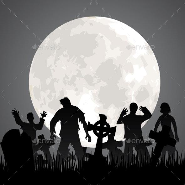 Zombies - Halloween Seasons/Holidays