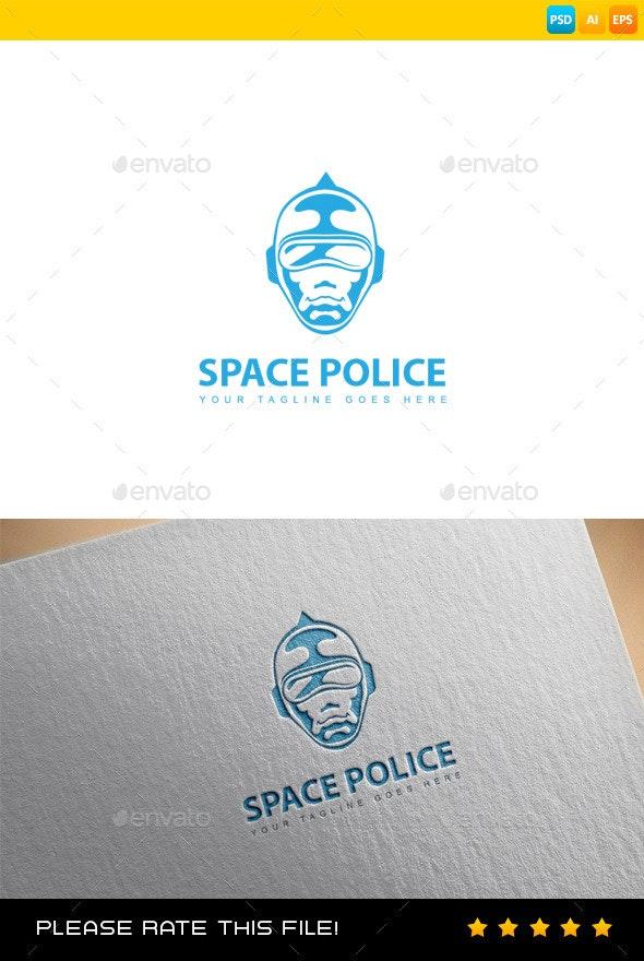 Police Mask Logo