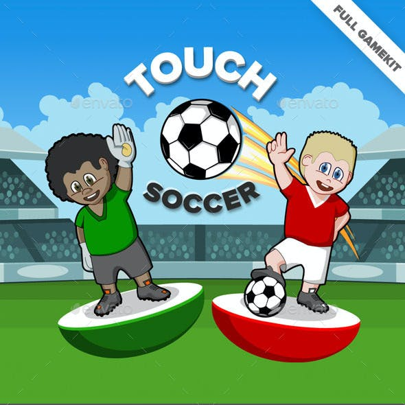 Touch Soccer Game Kit