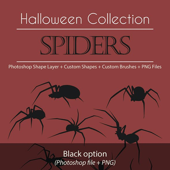 Halloween Collection - Spiders