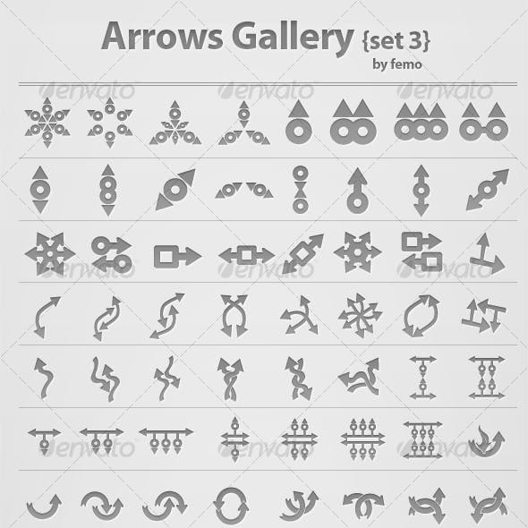 Arrows Gallery {set 3}