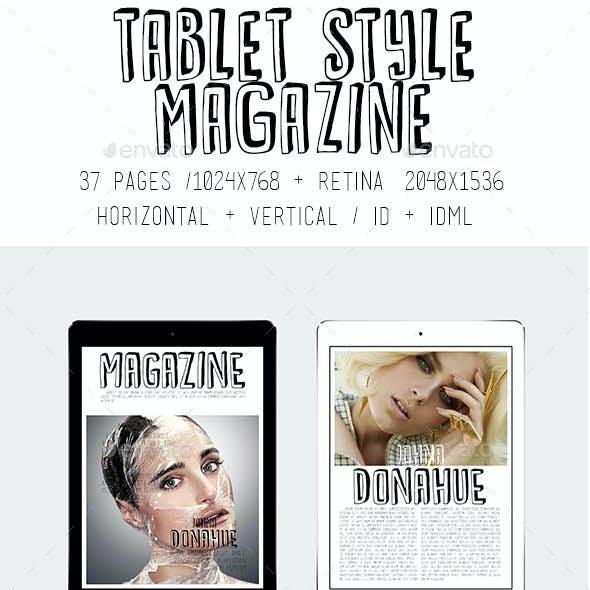 iPad & Tablet Style Magazine