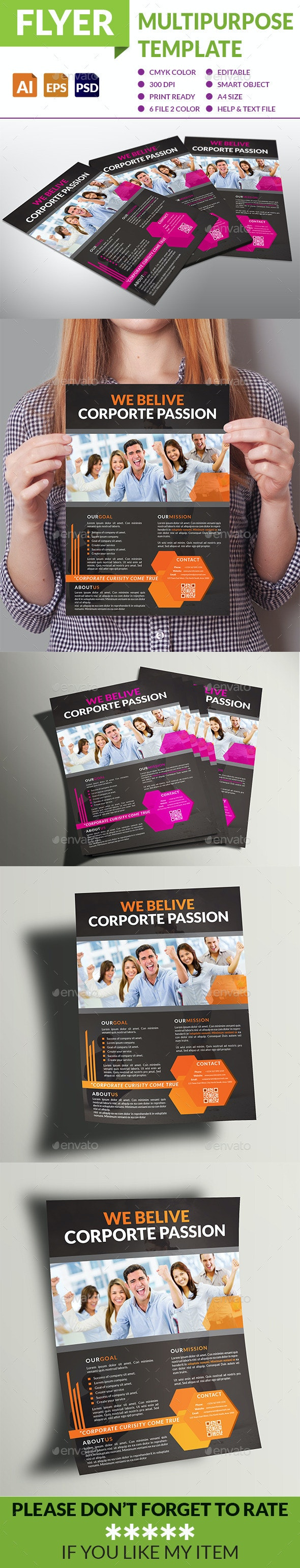 Multipurpose Business Flyer - Corporate Flyers